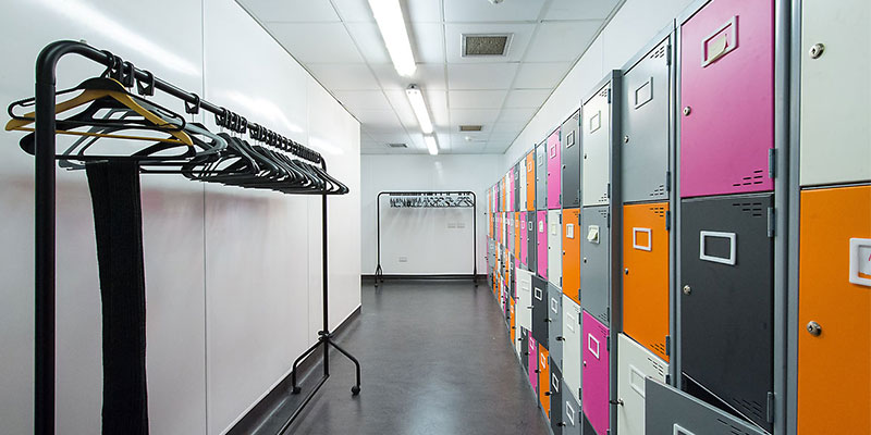 Sky Tannochside Office Staff Locker Room