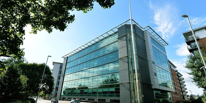 Sky City Walk Office Building in Leeds