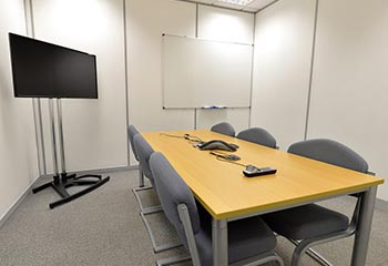Meeting Room in HP Enterprise Nottingham Office Building