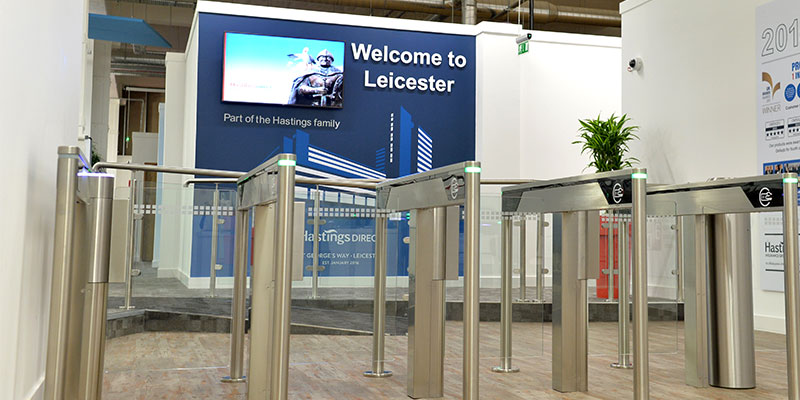 Entrance to Hastings Direct Leicester Office Building