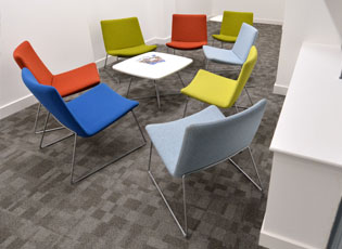 Small Meeting Area at Hastings Direct Leicester Office Building