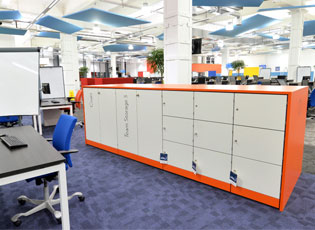 Work Space at Hastings Direct Leicester Office Building