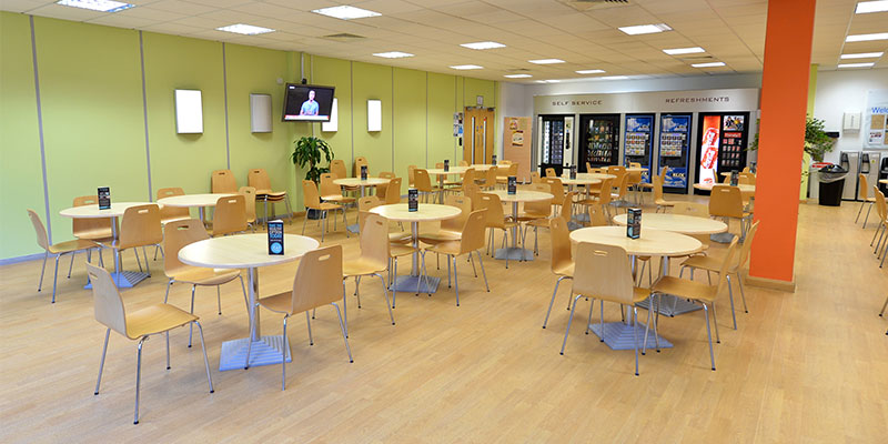 Dining Area at Portal Sherwood Park Office Building, Nottingham